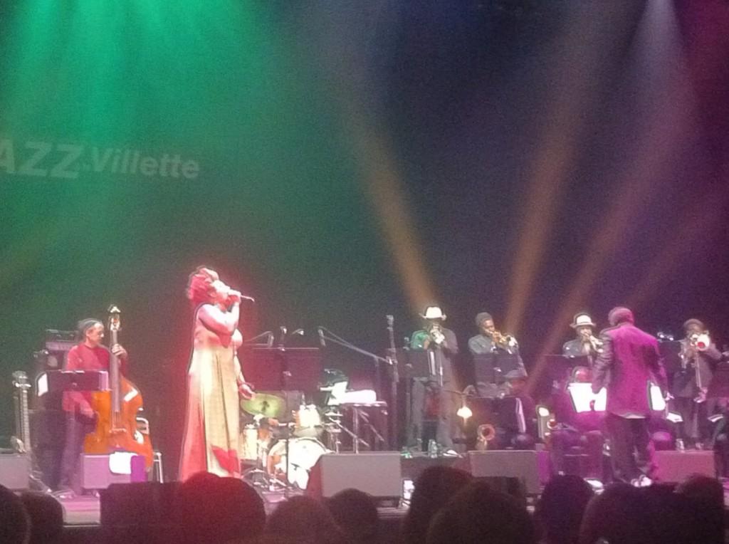 Macy Gray et David Murray en ouverture de Jazz à la Villette, big concert