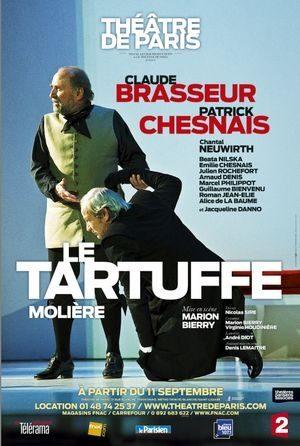 Tartuffe dépassionné au Théâtre de Paris