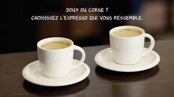 Starbucks vous offre le petit café du lundi matin