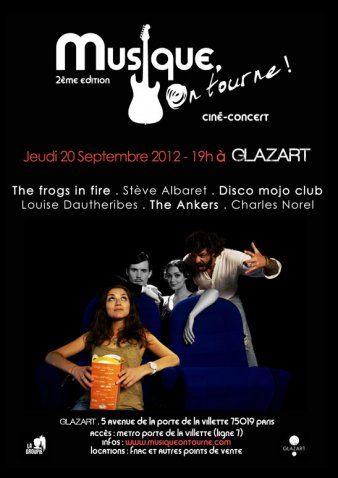 Un ciné-concert au Glazart le 20 septembre : Musique on tourne !