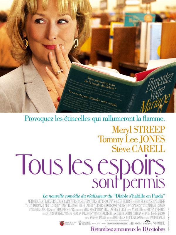 Tous les espoirs sont permis, la critique: Meryl Streep et Tommy Lee Jones veulent raviver la flamme!