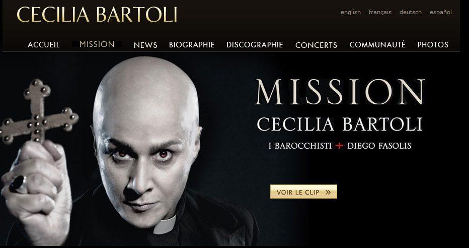 Cecilia Bartoli se donne pour Mission de faire redécouvrir les compositions d'Agostino Steffani
