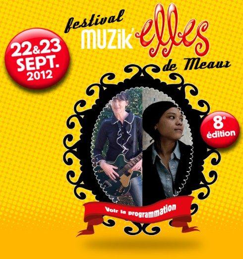 Les Musik'elles, place aux femmes à Meaux (22&23 septembre 2012)