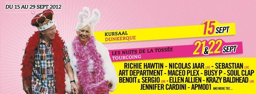Gagnez 1×2 places pour la soirée de la Tossée le 22 septembre au N.A.M.E Festival !