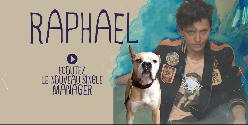 Raphaël dévoile le premier single de son album « Manager »