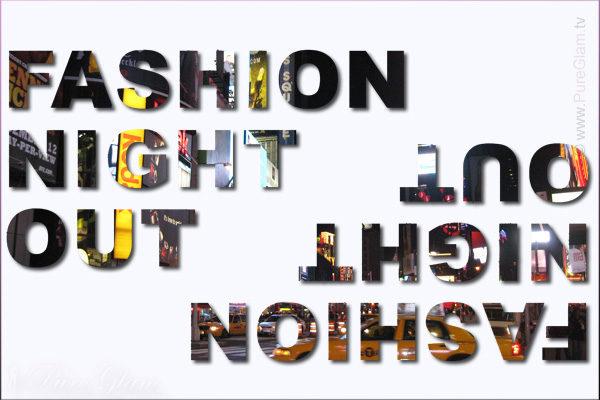 La vogue fashion night out retourne l'avenue Montaigne