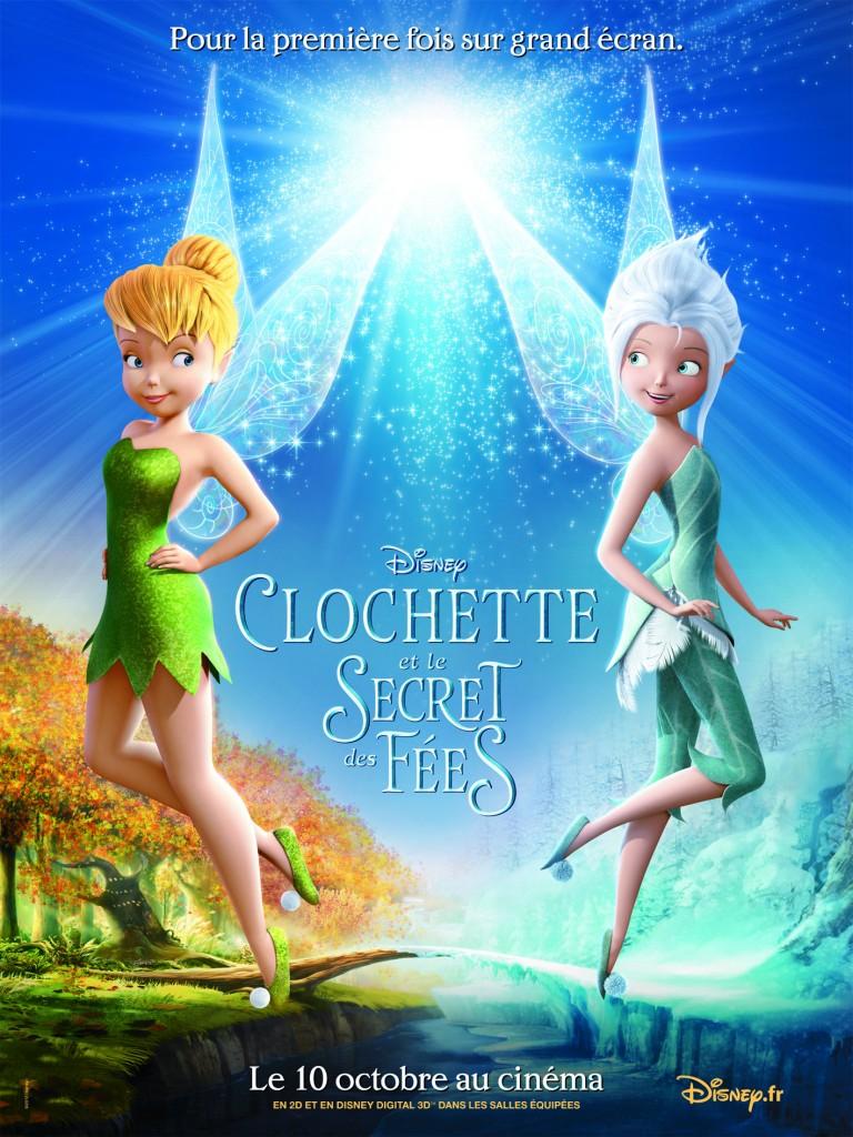 Gagnez 5×2 places de cinéma pour le film Clochette ou le secret des fées