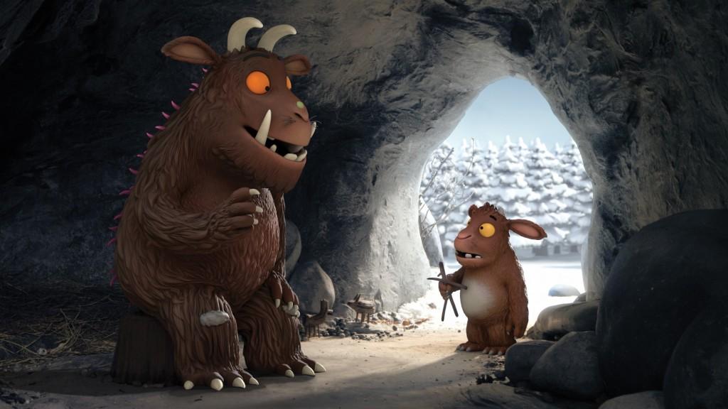 Le Petit Gruffalo- 4 court-métrages parlent d'autonomie aux tout-petits