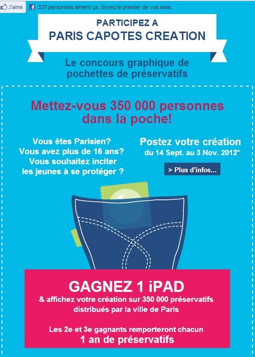Devenez créateur pour les pochettes de capotes parisiennes