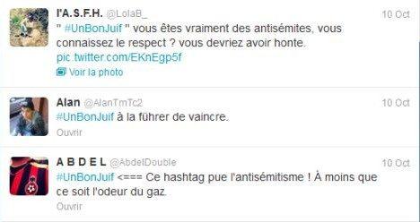 #unbonjuif : Twitter a commencé à supprimer les tweets antisémites