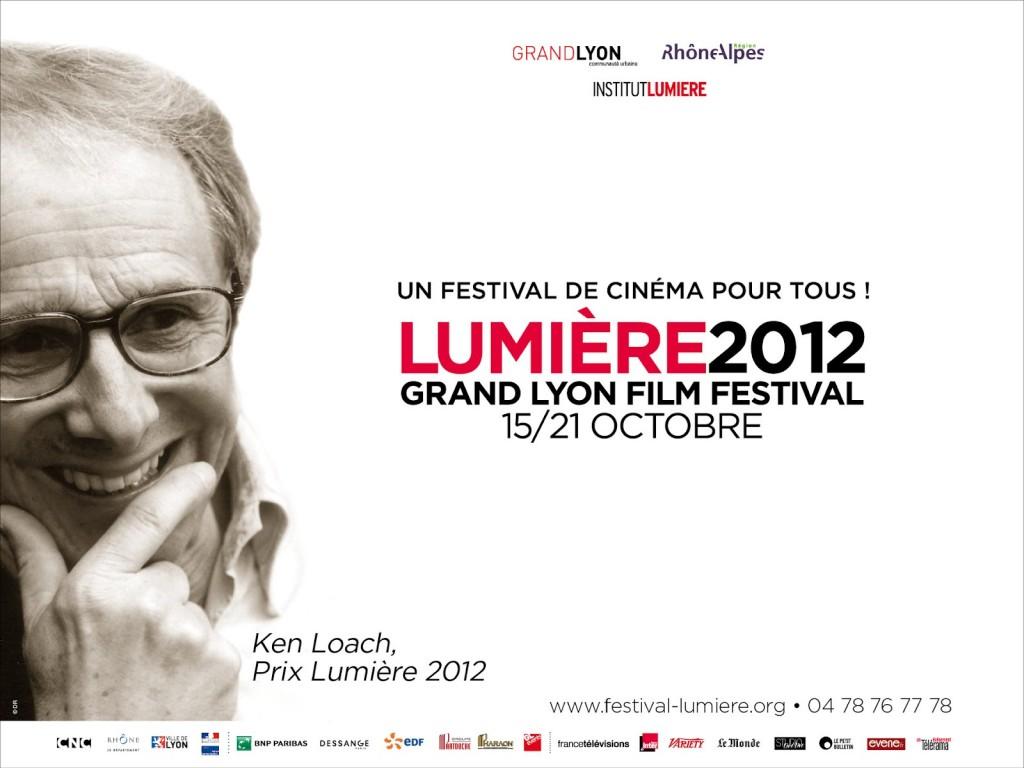 Clôture du festival Lumière, Ken Loach reçoit le Prix Lumière