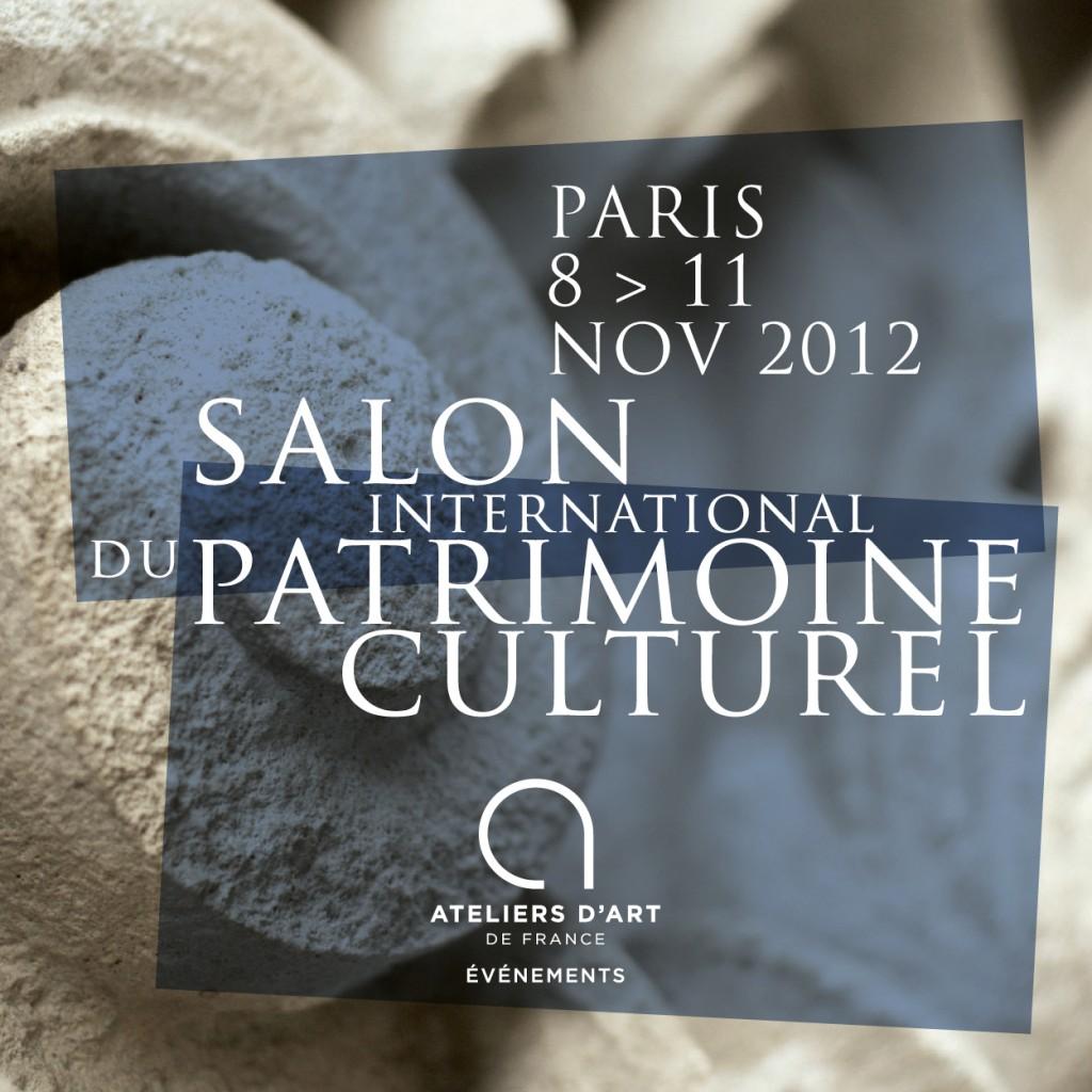 Le Salon international du Patrimoine culturel des Ateliers d'Art de France prendra ses quartiers au Carrousel du Louvre du 8 au 11 novembre