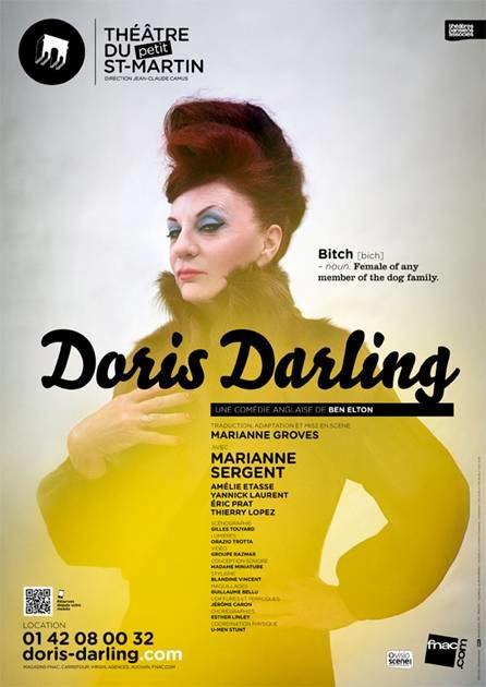Gagnez 3×2 places pour Doris Darling au théâtre du Petit Saint-Martin le 26 octobre
