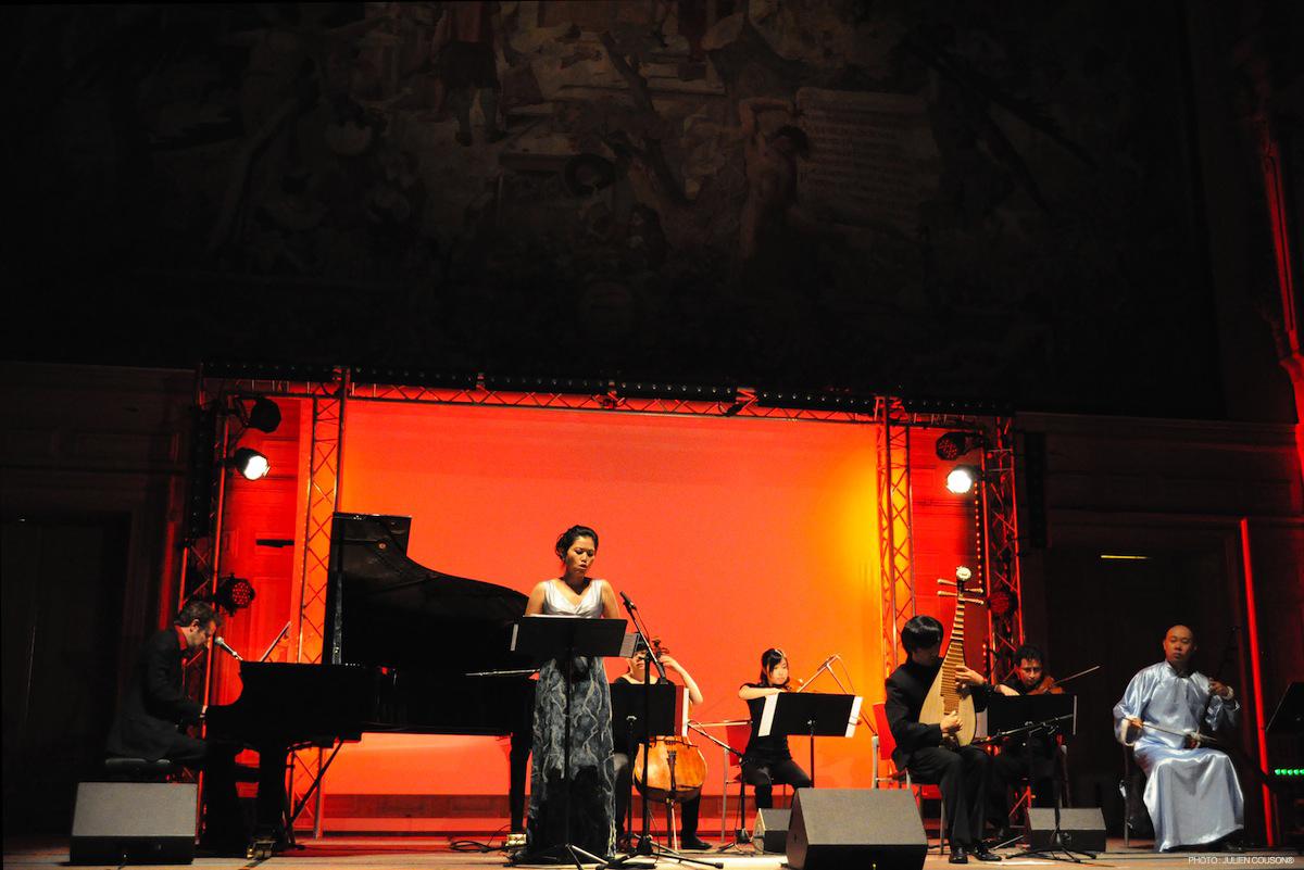 laurent couson et l'orchestre chinois