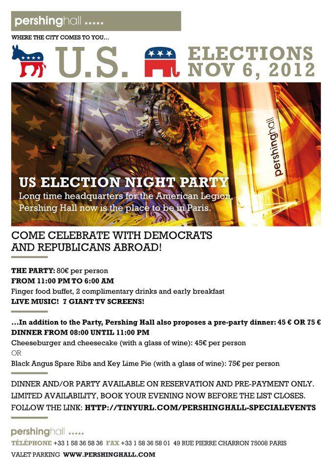 Cinq lieux où suivre les élections américaines la nuit du 6 novembre