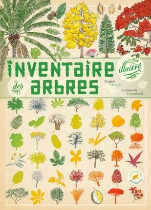 Inventaire illustré des arbres de Virginie Aladjidi et Emmanuelle Tchoukriel