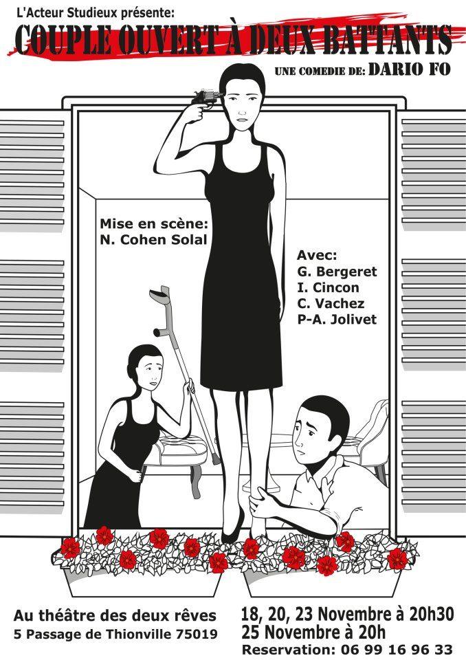 Couple Ouvert à deux battants, version trio par Nethanel Cohen Solal