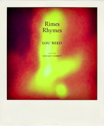 «Rhymes» : Le petit oiseau de Lou Reed va sortir !