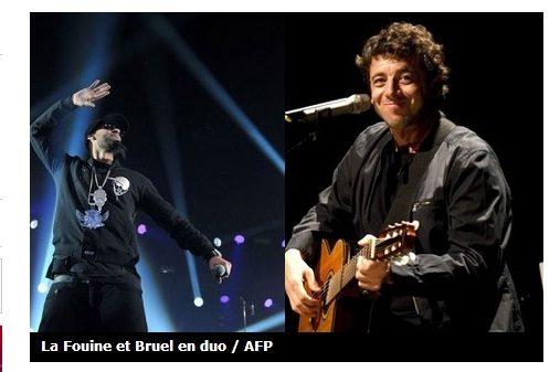 La Fouine pose sur le prochain album de Patrick Bruel
