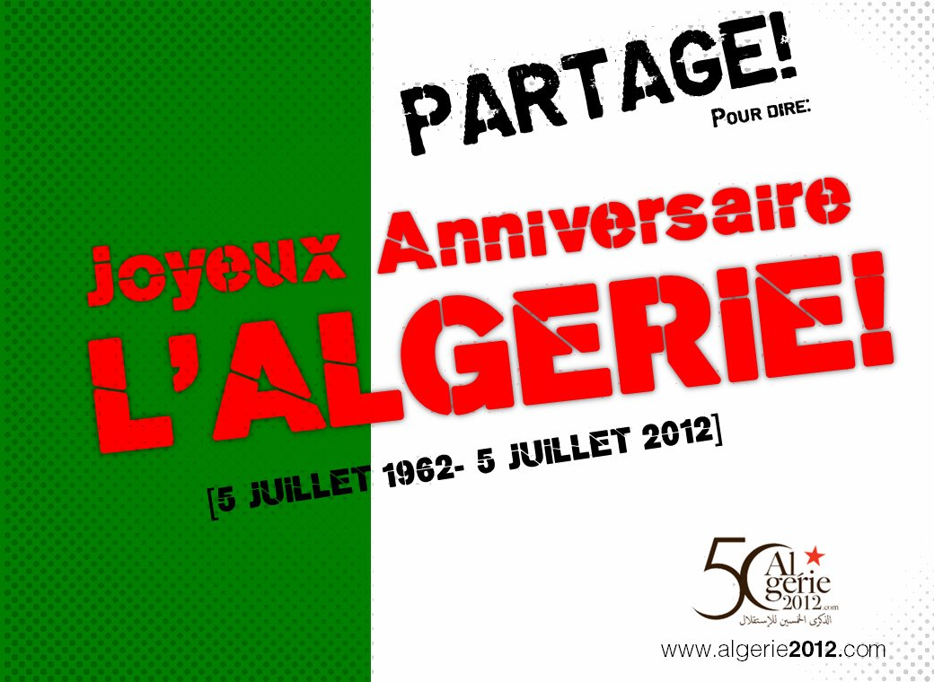 cinquantenaire algérie édito