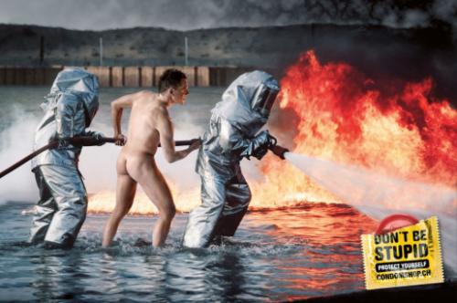 La genèse des préservatifs dans la publicité