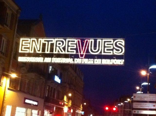 Jean-Pierre Mocky ouvre le 27e Festival EntreVues à Belfort (24-11-2012)