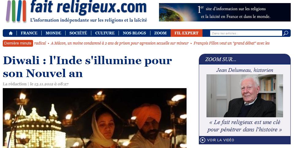 Lancement de faitreligieux.com, le site d'information indépendant sur les religions et la laïcité
