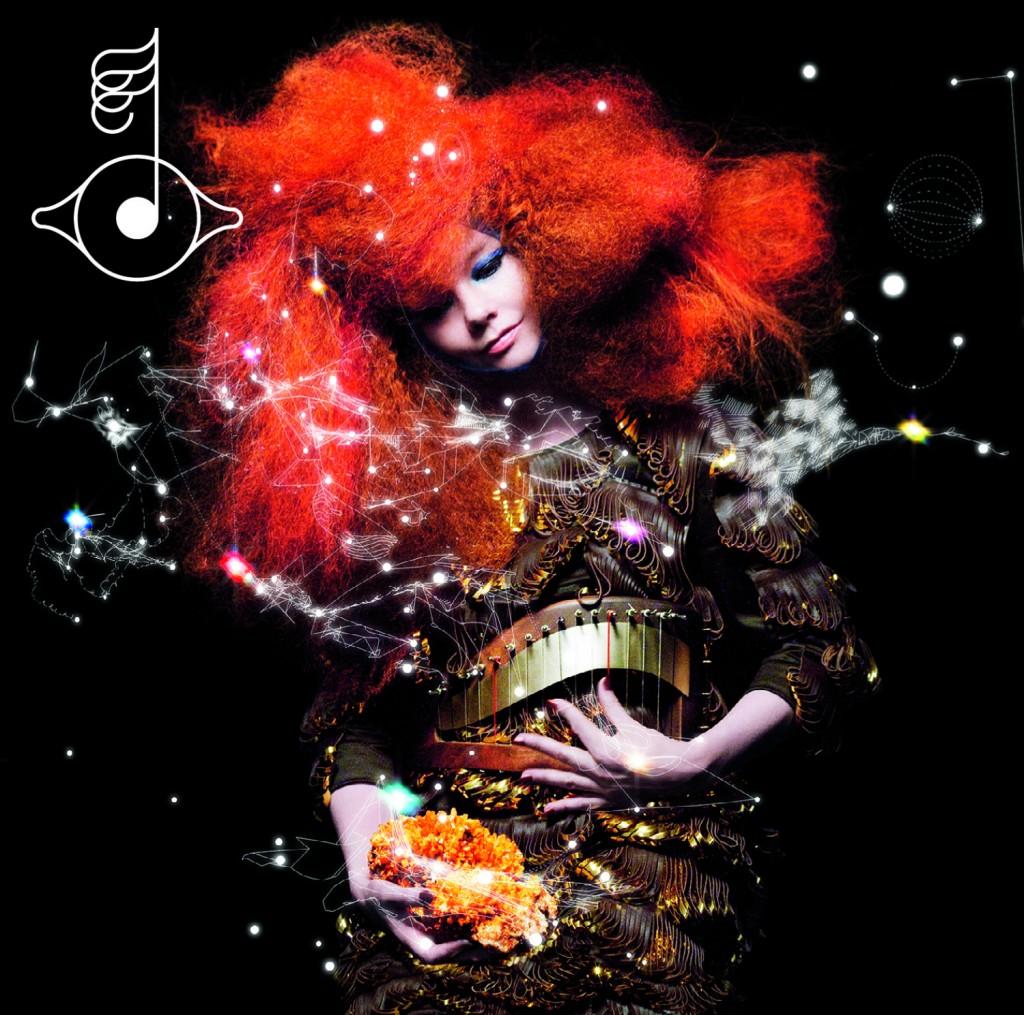 Björk en tournée à Paris en février 2013