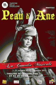 Peau d'Âne, la comédie musicale au théâtre de la Madeleine