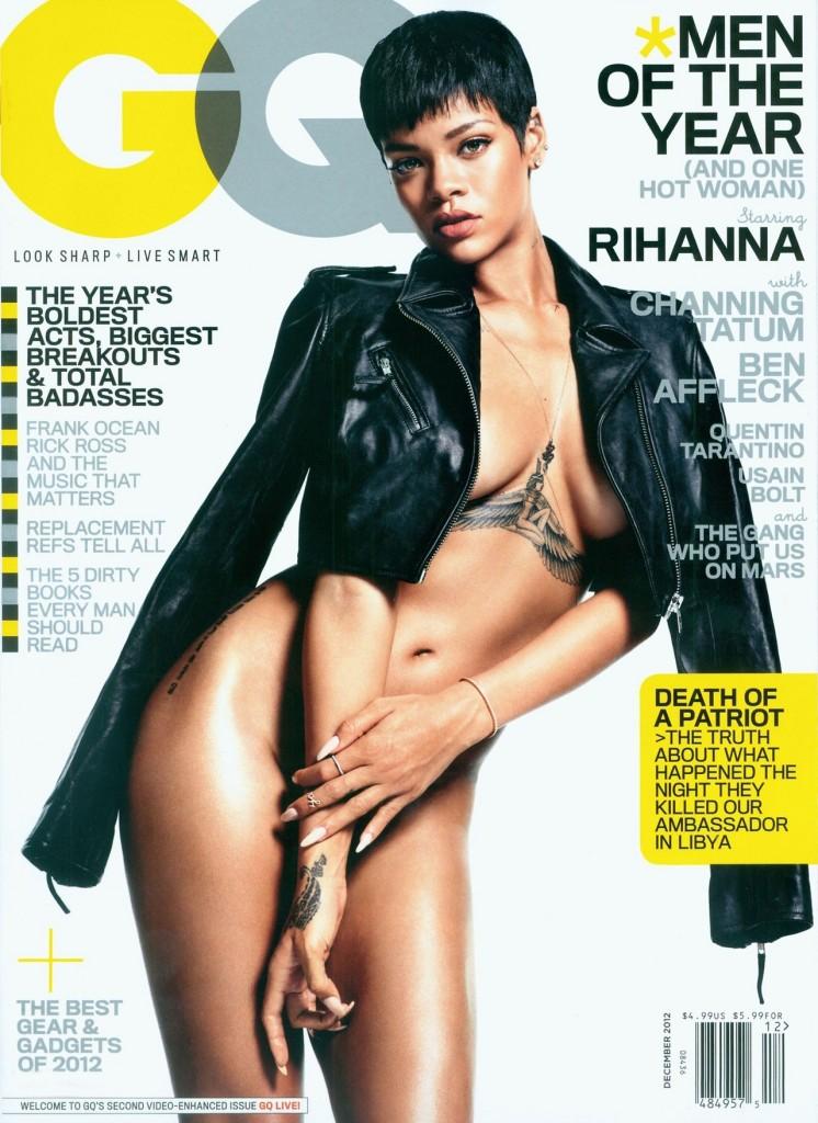 Rihanna pose entièrement nue dans le dernier GQ