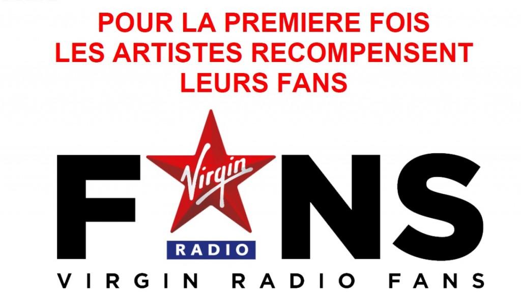 Virgin radio permet aux artistes de récompenser leurs meilleurs fans