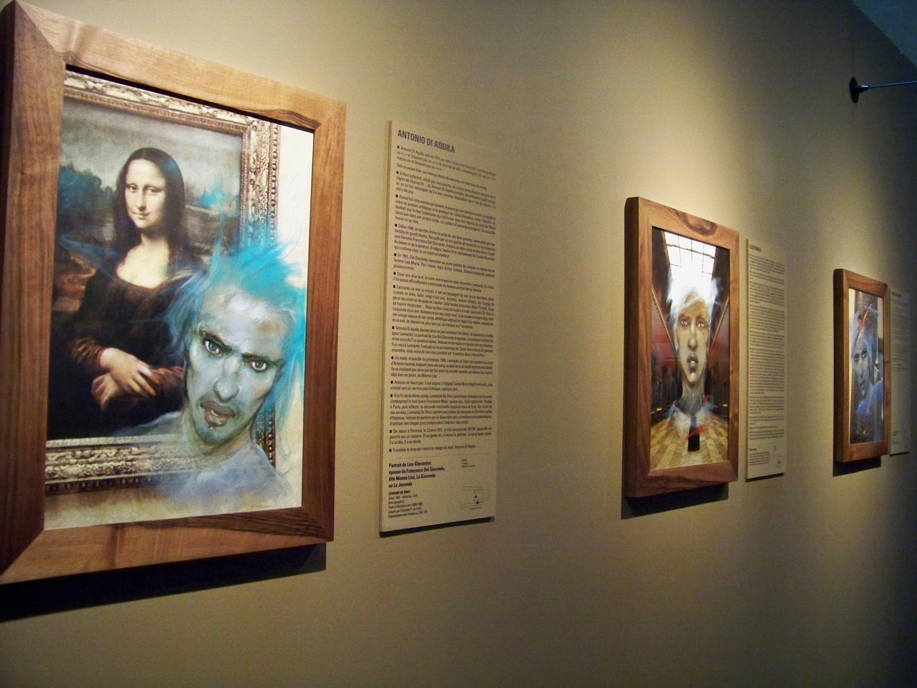 Les fantômes d'Enki Bilal envahissent le Louvre