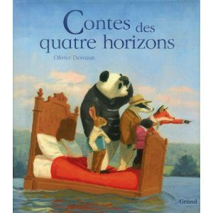 Contes des quatre horizons d'Olivier Desvaux