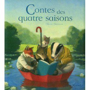 Contes des quatre saisons d'Olivier Desvaux