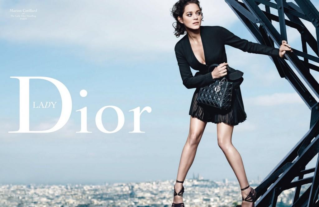 Marion Cotillard : Designer du nouveau Lady Dior !