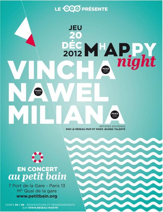Gagnez 3 X 2 places pour la soirée MhAPpY au Petit Bain le 20 décembre !