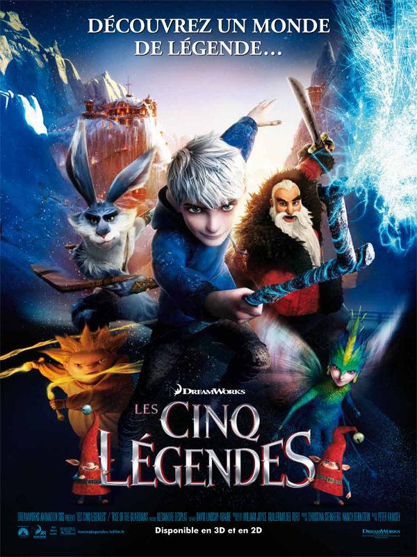 Critique: Les 5 légendes, film d'animation Dreamworks épique et réussi, bel hommage à la force des croyances enfantines
