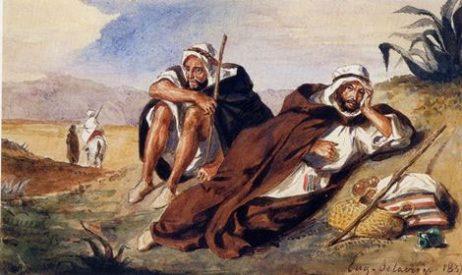 Une toile d'Eugène Delacroix volée à Paris