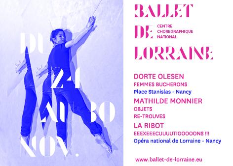 Dorte Olesen, La Ribot et Mathilde Monnier à Nancy : femmes, travail et mémoire