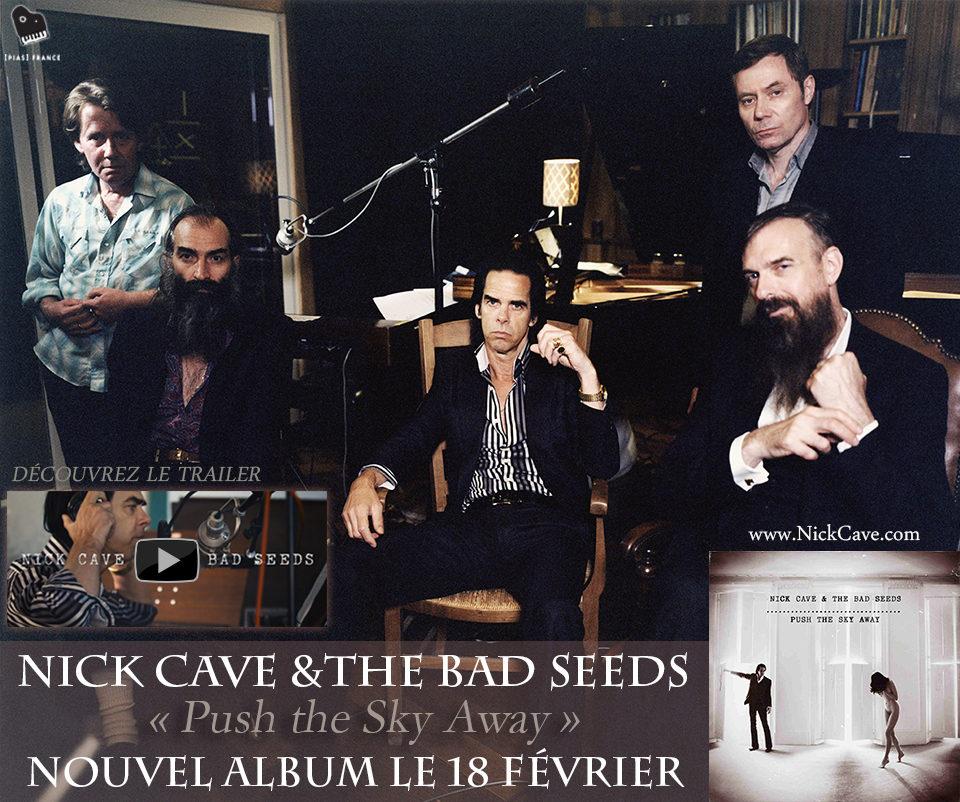 Le retour de «Nick Cave & the Bad Seeds».