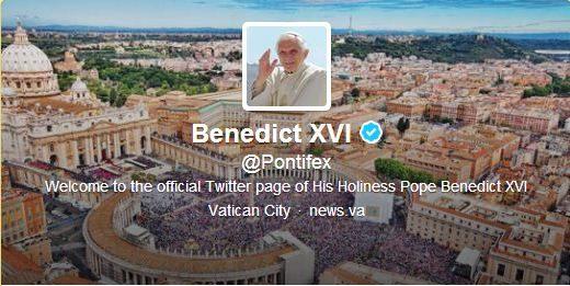 La rencontre de Twitter et de Benoit XVI