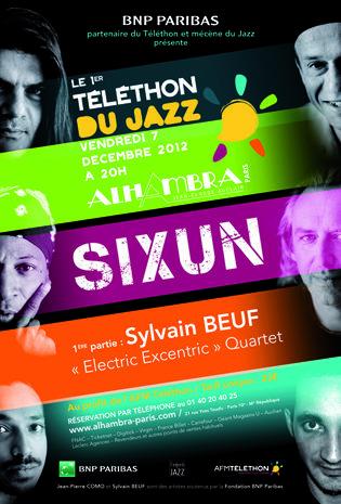 Gagnez 5×2 places pour le 1er «TÉLÉTHON du JAZZ» à l'Alhambra le 7 décembre 2012 à 20h00