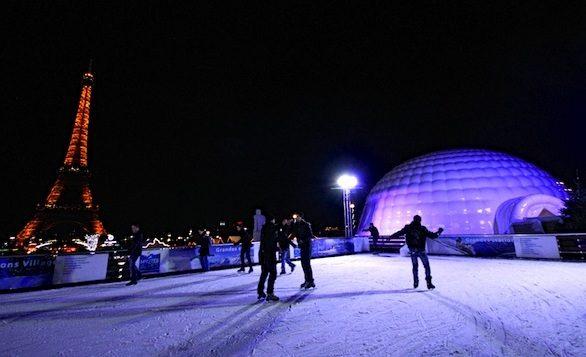 Les patinoires parisiennes : nos trois coups de coeur