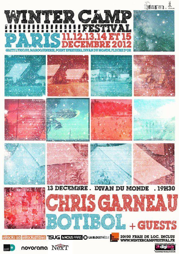 Gagnez 2×2 places pour le «Winter Camp Festival», le 13 décembre