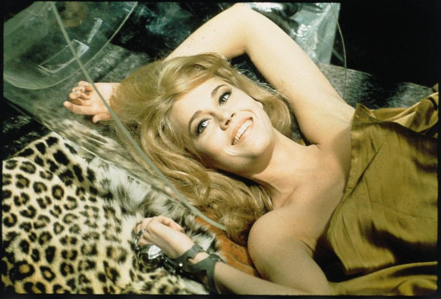 Barbarella, le film culte avec Jane Fonda enfin en dvd et Blu-ray