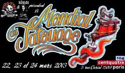 2013 signe le grand retour du mondial du Tatouage à Paris