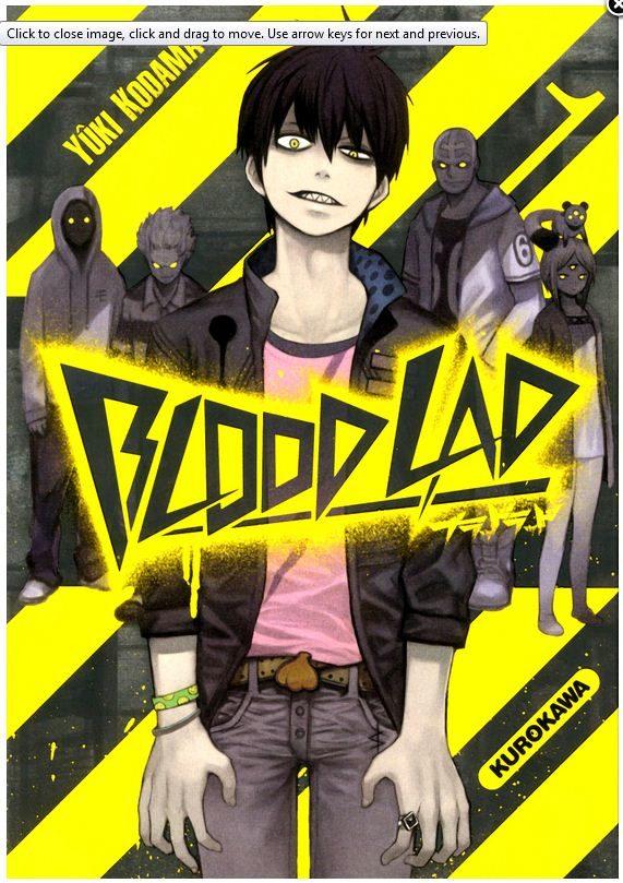 Blood Lad Tome 1 : Une rencontre inattendue