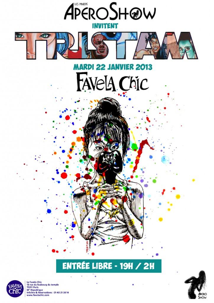 [Live Report] L'apero show n°3 à la Favela Chic : Tristam en guest