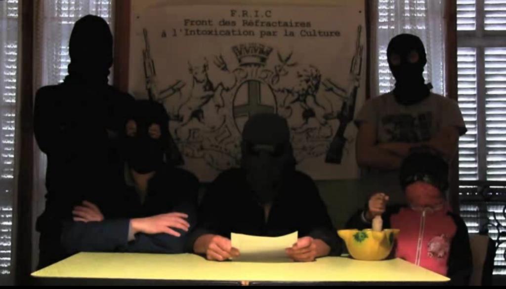 Le FRIC fait la guerre à Marseille 2013