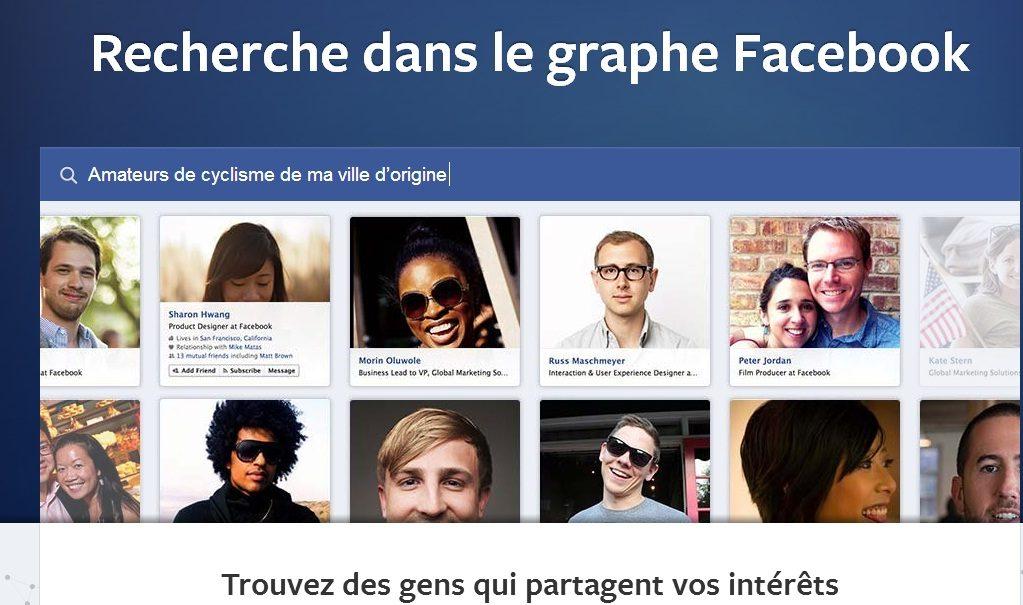 Un moteur de recherche social signé Facebook
